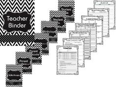This chevron themed teacher binder is a complete collection of often-used, printable forms that help teachers simplify work, personal organization, record keeping and classroom management.By purchasing this product, you will receive a zip file that includes 3 pdf files and 1 PowerPoint files .This PowerPoint file will allow you to personalize the documents to meet your needs throughout the year.Please download the preview to see what is included in this packet!