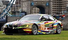 Art cars: A moving pictorial. I like the Via Champion Porsche :)