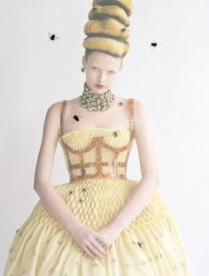 ≗ The Bee's Reverie ≗ Bee Couture by Tim Walker