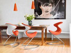 Ergonomische Stühle-Esszimmermöbel Grün   art et design   Pinterest ...