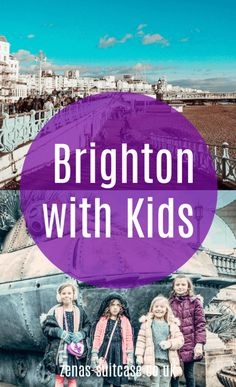 Planning a trip to this famous seaside location! Read our things to do in Brighton with kids now and you are gaurenteed a fun family trip Travel With Kids, Family Travel, Travel Uk, Vintage Suitcases, Vintage Luggage, Brighton Attractions, Holiday Destinations, Travel Destinations