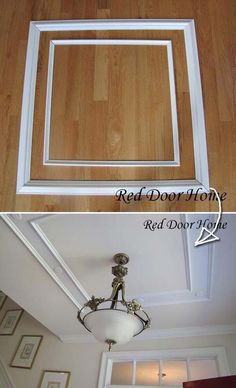 20 Inexpensive Ways to Dress Up Your Home with Molding Looking for an easy and inexpensive way to dress up your old furniture or upgrade ...
