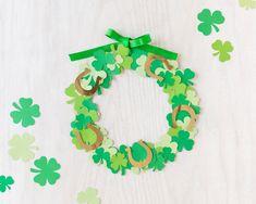 St Patricks Day Crafts For Kids, St Patrick's Day Crafts, Holiday Crafts, Arts And Crafts, Toddler Art, Toddler Crafts, Preschool Crafts, Kids Crafts, Easy Crafts
