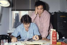 Rare and beautiful celebrity photos | Dan Aykroyd and John Belushi