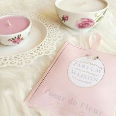 Good morning Barbara, here's a pretty little candle set I picked for you, Enjoy your day ~♥ March 30th