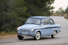 Seat 600 Ampurias by Siata Spain, Tarragona . The rear trunk was a requirement for many owners...