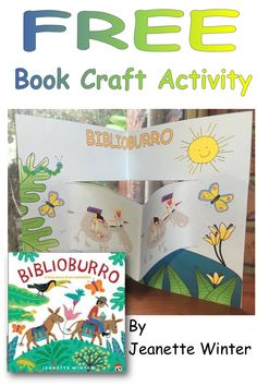 Biblioburro (donkey library) is a book written by… Mobile Library, Importance Of Education, Youth Services, Hidden Pictures, Free Teaching Resources, Student Teaching, Summer School, Literacy Centers, Elementary Art