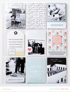 I'm so inspired by this mix of projects from the creative team for the month of January! These projects put the team members behind the wheel, deciding which stories to … Scrapbook Blog, Pocket Scrapbooking, Scrapbook Paper Crafts, Scrapbook Cards, Disney Scrapbook, Project Life 6x8, Project Life Layouts, Project Life Planner, Book Projects
