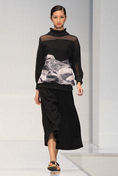Ezzati Amira at KL Fashion Week RTW 2014 Photo by KF Chow #activesights #klfw2014 #klfw #runway #fashionweek #fashionshow