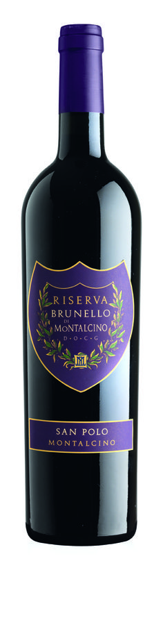 Riserva Brunello di Montalcino, San Polo, Tuscany Only produced in exceptional vintages. It is a deeply-woven robust wine that is released six years after the harvest.