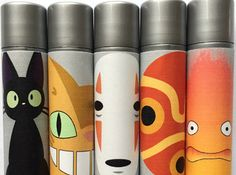 Spirited Away, My neighbor Totoro—so many great films. And if you love the Japanese artist as much as us, you'll love these chap sticks from Shiro Cosmetics —just look at Jiji's adorable eyes! Weird Gifts, Crazy Gifts, Chat Bus, Tinted Lip Balm, Lip Tint, Mundo Comic, The Ultimate Gift, Ghibli Movies, Girls Anime
