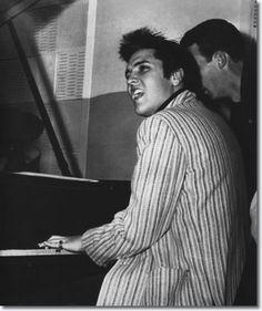 Elvis Presley in Jailhouse Rock, 1957 Jailhouse Rock is a 1957 American musical drama film directed by Richard Thorpe and starring Elvis Pre...