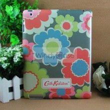 Cath Kidston iPad 2 / New iPad hard case picnic flowers - blue