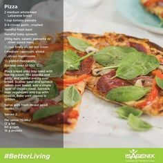 Mouth Watering Isagenix Main Course ideas to keep you satisfied Pizza on a diet, sure can. thin​ crust pizza with fresh tomatoes and basil. Isagenix recipe for weight loss and Isagenix meal plan. Isagenix Meal Plan, Isagenix Snacks, Shake Recipes, Diet Recipes, Cooking Recipes, Healthy Recipes, Herbalife, Healthy Diet Plans, Healthy Eating