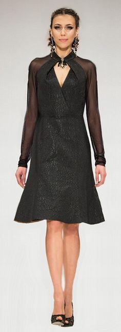 Нарядные платья 2017 для пожилых и полных женщин - 84 фото