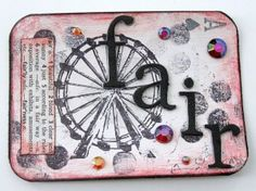 APC (altered playing card)... the things you could do with these are endless! And the blog gives a few cute examples.
