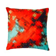 Pixel print cushion   Collected by LeeAnn Yare