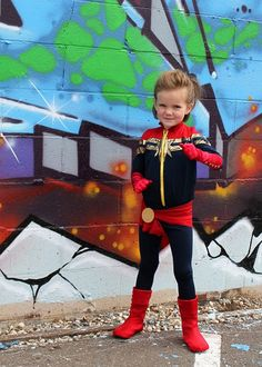 Stella Grace as Captain Marvel