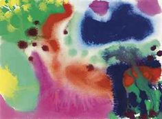 Patrick Heron SYDNEY: 9 FEB: 1990 Patrick Heron, Garden Painting, Cool Landscapes, Abstract Watercolor, Floral Fabric, Sydney, Contemporary Art, Canvas Art, Paintings