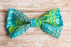 tribal print bow tie