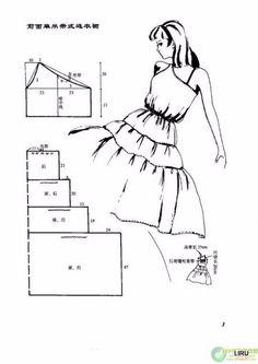 Простые летние платья. Выкройки 100 моделей!!!