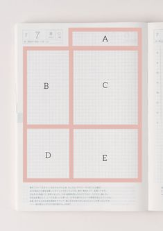 How to Use the Hobonichi Cousin Daily Layout - GreyZone Pages Daily Bullet Journal, Bullet Journal Layout, Junk Journal, Planner Layout, Planner Pages, Planner Ideas, Life Planner, Happy Planner, Ui Palette