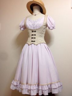 Classic lolita summer outfit. Idk if this is exactly classic lolita though. It has a sailor feel to it