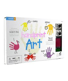 Look at this Handprint Art Craft Kit on #zulily today!
