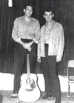 Sanford Clark with Duane Eddy