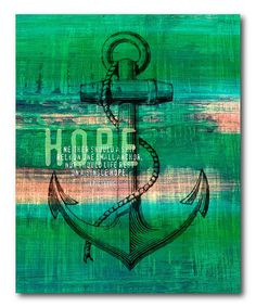Another great find on #zulily! 'A Single Hope' Gallery-Wrapped Canvas #zulilyfinds