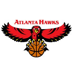 Aaron's Lucky Dog Wednesday at the Atlanta Hawks Game (February Sports Team Logos, Sports Art, Sports Teams, Sports Pics, Atlanta Hawks, Atlanta Usa, Hawks Game, Hawk Logo, Nba Basketball Teams