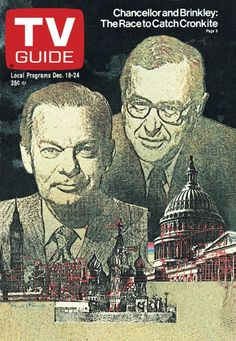 Chancellor and Brinkley: The Race to Catch Cronkite Vintage Tv, Vintage Antiques, What Is Coming, Great Tv Shows, Tv Guide, Nbc News, Old Tv, Classic Tv, Behind The Scenes