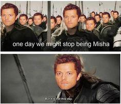 Misha is Castiel | Supernatural fandom