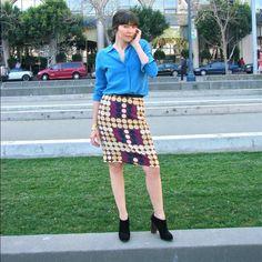 H&M Marni collection skirt rare htf sz 8 Hi this skirt is from H&m the Marni collection. Very distinct pattern. Sz 8 H&M Skirts