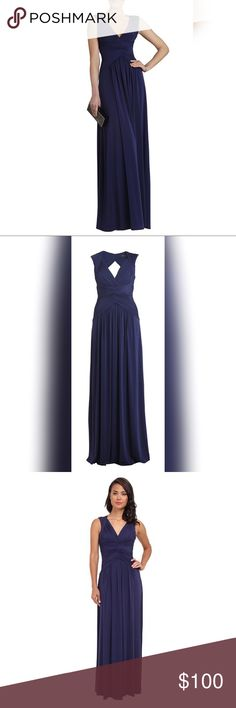 BCBG Sophia Maxi Dress ▫️Great condition ▫️Gorgeous Dress ▫️Worn only once  (few sings of wear) ▫️Navy Blue ▫️Party dress 🌷Happy Poshing! 0c979c90574c