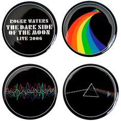 Pink Floyd - Dark Side Collection 4-Piece Magnet Set
