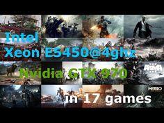 Intel Xeon E5450@4Ghz + GTX 970 Maks settings 1080p in 17 Games - Видеокарты - Медиа - домашний компьютер