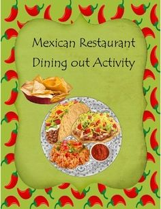 Mexican Restaurant Dining Out Activity