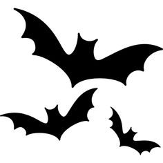 Halloween bats free vector icons designed by Freepik Diy Halloween, Moldes Halloween, Manualidades Halloween, Easy Halloween Decorations, Halloween 2020, Happy Halloween, Halloween Stencils, Halloween Icons, Halloween Vector