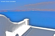 Reading Nook #Santorini #travel #holidays #Greece #blue