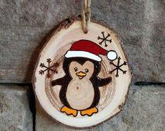 Personnalisé Pingouin Famille 3 4 5 Noël Manteau Ornement De Noël Décoration Cadeau