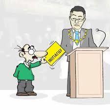 een kiesrechtige kan met behulp van 40000 handtekeningen een bepaald onderwerp op de agenda van de 2e kamer laten zetten - Marlijn