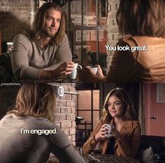 Pretty Little Liars Season 7 - Not gonna lie, I have shipped this since season 2. #jaria Kinda ship it more than Exria right now. :o