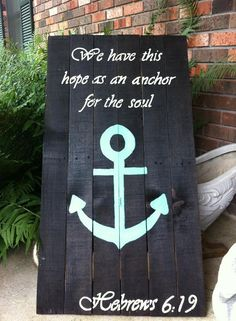 So, now you can be able to create a diy wood pallet anchor signs for your home areas at your […] Pallet Painting, Pallet Art, Diy Pallet, Pallet Signs, Pallet Ideas, Pallet Crafts, Wood Crafts, Diy Wood, Primitive Crafts