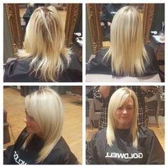 #hairdressing #hair #blowdry