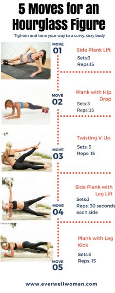 5 Easy Moves for an Hourglass Figure – Ever Well Women