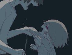 Anime Crying, Sad Anime, Anime Art, Sad Drawings, Dark Art Drawings, Dark Art Illustrations, Illustration Art, Dessin Old School, Vent Art