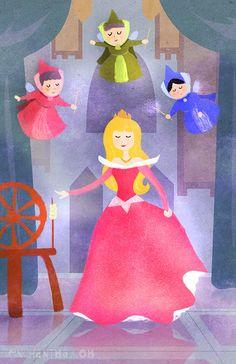 Princess Aurora - Disney Princess Fan Art (31470148) - Fanpop