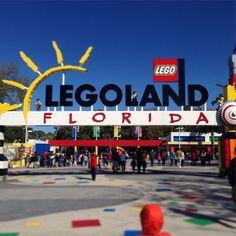 So excited for our adventures at LEGOLAND Florida today! #MacKid @legolandflorida