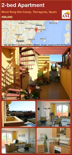 Apartment for Sale in Mont Roig Del Camp, Tarragona, Spain with 2 bedrooms - A Spanish Life Andorra, Holiday Apartments, Apartments For Sale, Bilbao, Valencia, Penthouse Apartment, Double Glazed Window, Spanish House, Roof Deck
